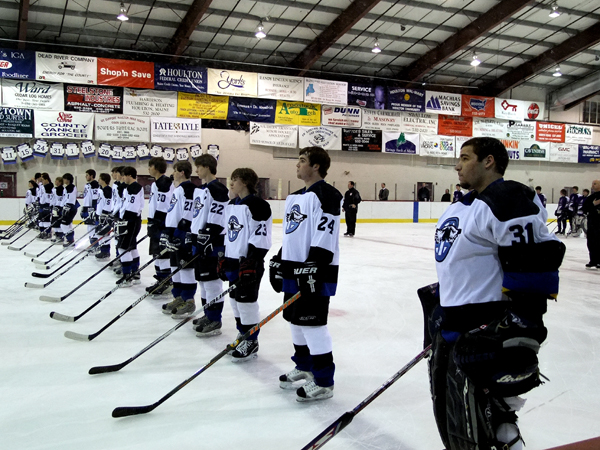 Houlton High School. High School Hockey Team